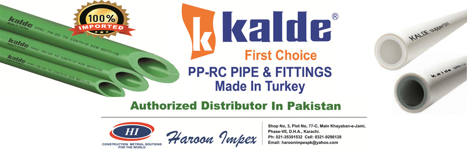 Kalde Pakistan – Quality Plumbing in Affordable Rates